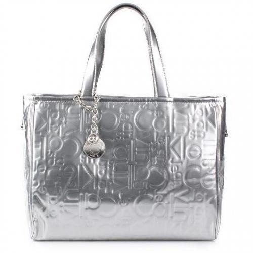 calvin klein shopping logo silver. Black Bedroom Furniture Sets. Home Design Ideas
