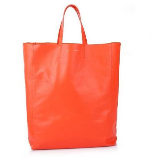 Celine Cabas Shopper Orange