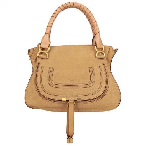 Chloé Handtasche Marcie Beige