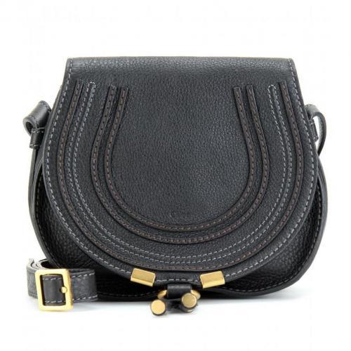 Chloé Marcie Small Mini Schultertasche Black