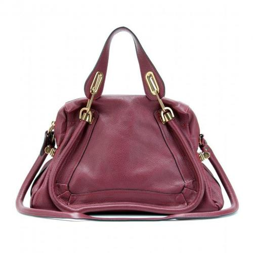 Chloé Paraty Medium Ledertasche Red