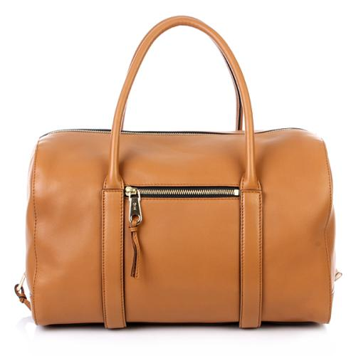 Chloé Madeleine Zipped Bag Tan Big