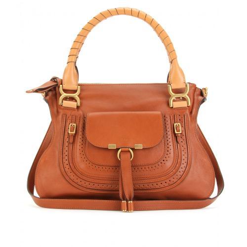 chlo marcie medium handtasche braun designer handtaschen paradies it bags burberry gucci. Black Bedroom Furniture Sets. Home Design Ideas