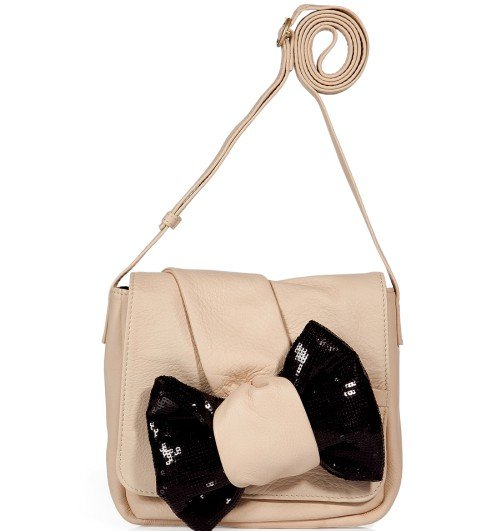 See by Chloe Pearly Bow Embellished Cross Body Tasche