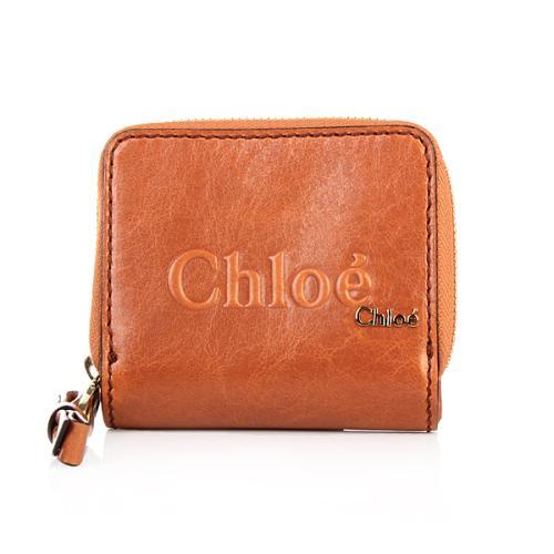Chloé Portefeuille Chloé Nutmeg Small