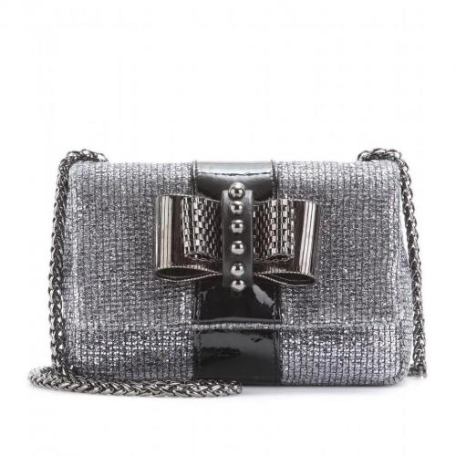 Christian Louboutin Sweet Charity Glitter-Clutch