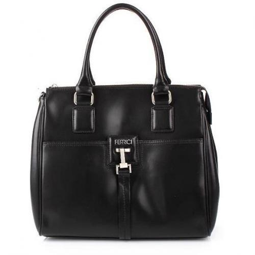 Claudio Ferrici Bella! Zip Hand/Shoulderbag Black
