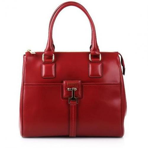 Claudio Ferrici Bella! Zip Hand/Shoulderbag Red