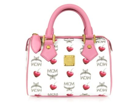 MCM Sweet Visetos - Boston Mini-Tasche