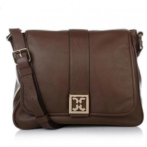 Coccinelle Amber Leather Medium Brown