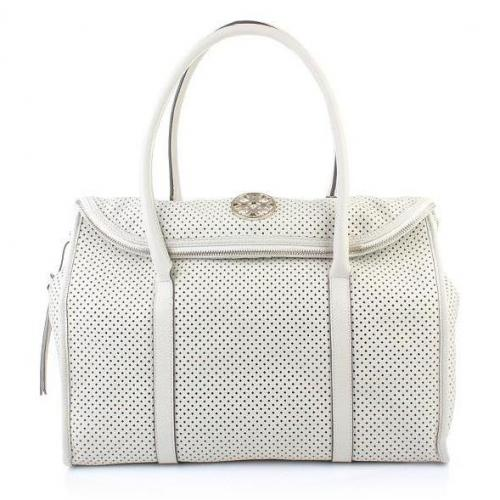 Coccinelle Borsa Drilly Off White