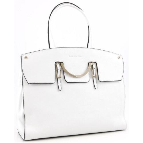 Coccinelle Celeste Shopper Leder weiß