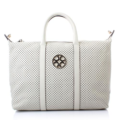 Coccinelle Borsa Ogo Drilly Off Weiss