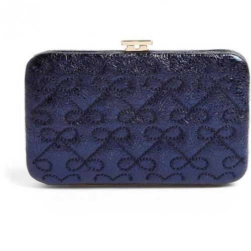 Anya Hindmarch Wilkes Miami Crinkle Leather Card Holder