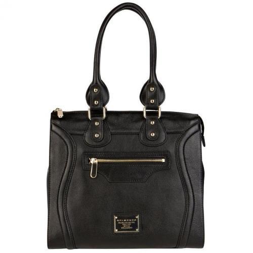 belmondo tasche schwarz designer handtaschen paradies. Black Bedroom Furniture Sets. Home Design Ideas