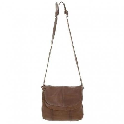 Black Lily Ledertasche Kosta brown