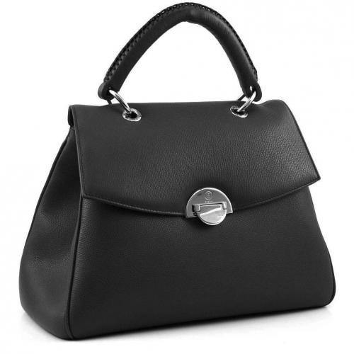 bogner elegance city henkeltasche leder schwarz designer handtaschen paradies it bags. Black Bedroom Furniture Sets. Home Design Ideas