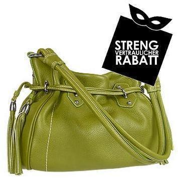 Buti Grüne Handtasche aus Kalbsleder