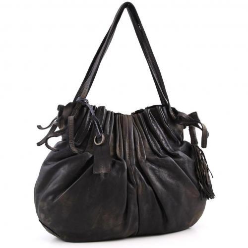 Caterina Lucchi Shopper Leder schwarz