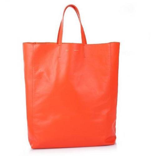 Celine Cabas Shopper Orange