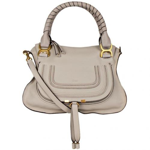 chlo handtasche marcie grau designer handtaschen. Black Bedroom Furniture Sets. Home Design Ideas