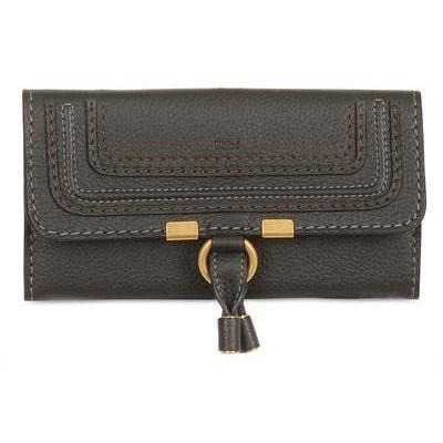 Chloé - Leder Marcie Continental Brieftasche