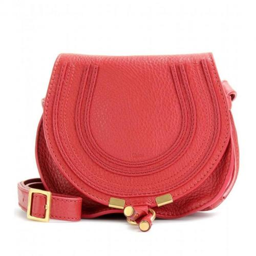 Chloé Marcie Small Mini Schultertasche Holly Berry