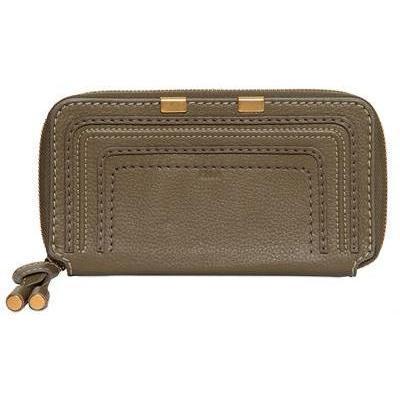 Chloé - Marcie Yip Textured Leder Brieftasche