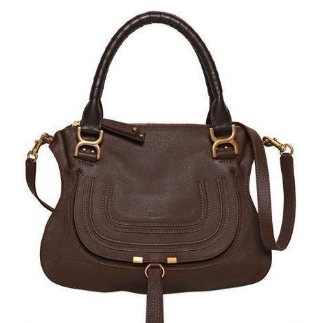Chloé - Medium Marcie Leder Handtasche