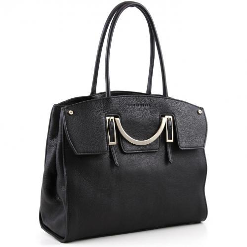 Coccinelle Celeste Shopper Leder schwarz