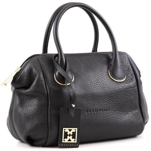 coccinelle clara henkeltasche leder schwarz designer handtaschen paradies it bags burberry. Black Bedroom Furniture Sets. Home Design Ideas