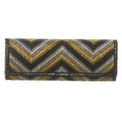 Deepa Gurnani Clutch Lurexfaden Stickerei