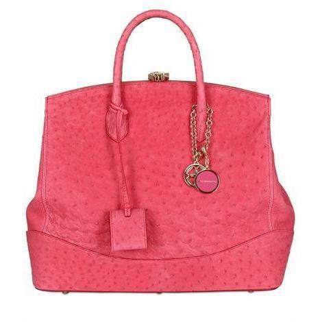 Desmo - Sara Textured Leder Handtasche