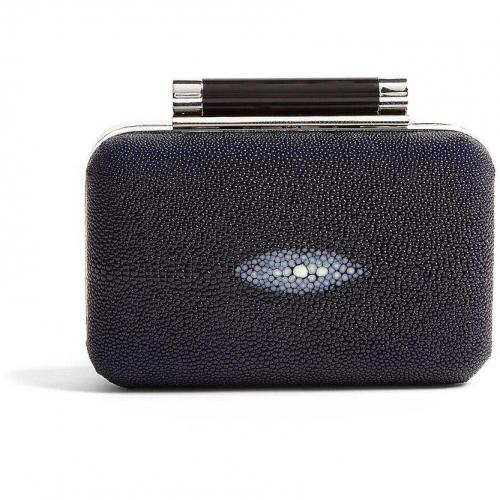 Diane von Furstenberg Tonda Stingray Eye Detail Clutch
