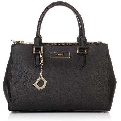 dkny handbag saffiano black