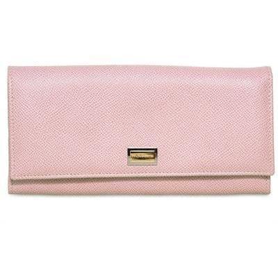 Dolce & Gabbana - Bedruckte Leder Brieftasche