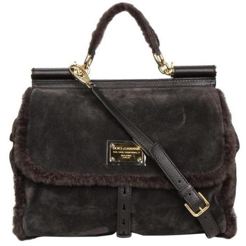 Dolce&Gabbana Handtasche Miss Sicily Braun