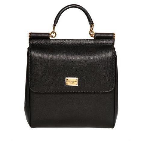 Dolce & Gabbana - Medium Miss Sicily Saffiano Leder Tasche