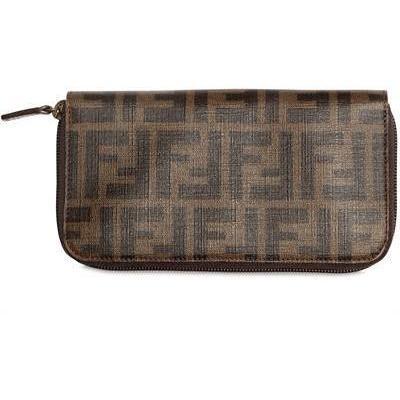 Fendi - Zucca Zip Around Brieftasche