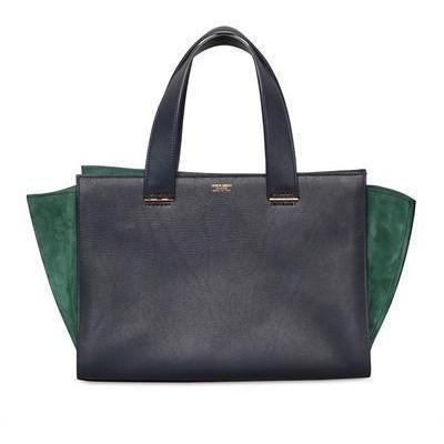 giorgio armani kleine shopping wildleder leder tasche designer handtaschen paradies it. Black Bedroom Furniture Sets. Home Design Ideas
