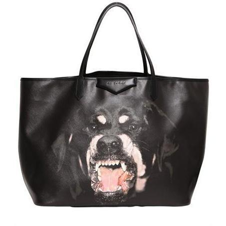 Givenchy - Große Antigona Rottweiler Pvc Tasche
