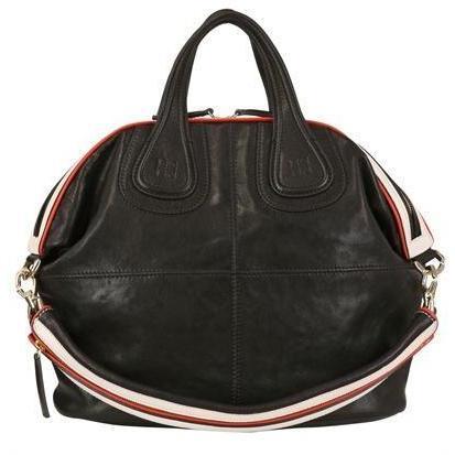 givenchy medium nightingale leder handtasche schwarz rot wei designer handtaschen paradies. Black Bedroom Furniture Sets. Home Design Ideas