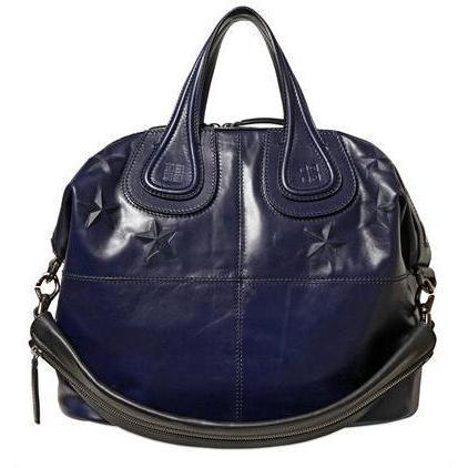 givenchy medium nightingale stern handtasche blau. Black Bedroom Furniture Sets. Home Design Ideas