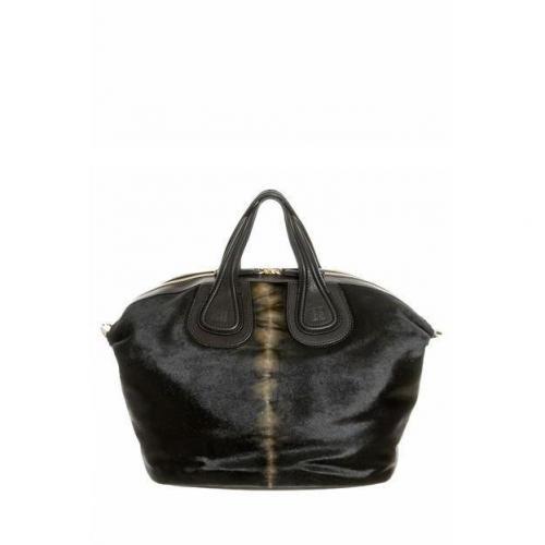 Givenchy Tasche Nightingale Medium Ponyfell