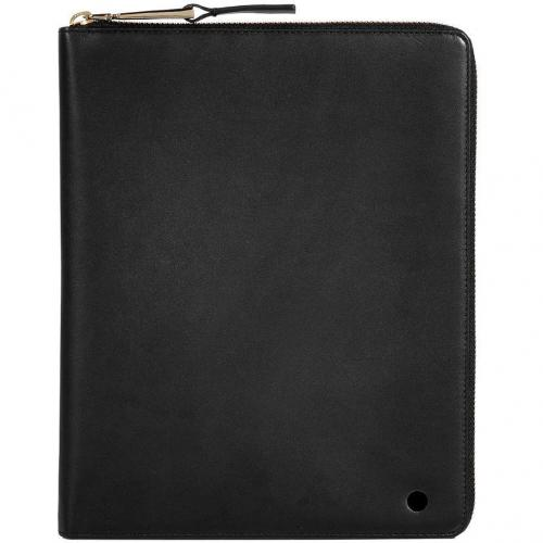 Jil Sander Black Leather iPad Case