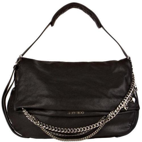 jimmy choo hobo bag biker schwarz designer handtaschen paradies it bags burberry gucci. Black Bedroom Furniture Sets. Home Design Ideas