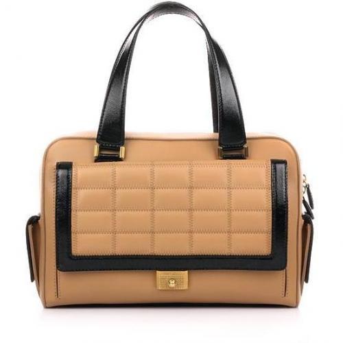 Jimmy Choo Soft Box Leather Bag