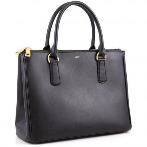 joop saffiano maia shopper 142201008 900 designer handtaschen paradies it bags burberry. Black Bedroom Furniture Sets. Home Design Ideas