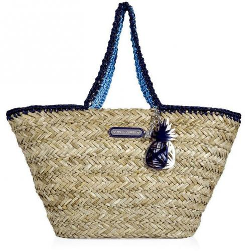 Juicy Couture Atlantis Seagrass Picnic In The Park Bag