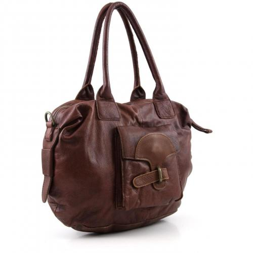 Liebeskind D Leather Alice Shopper Leder dunkelrot